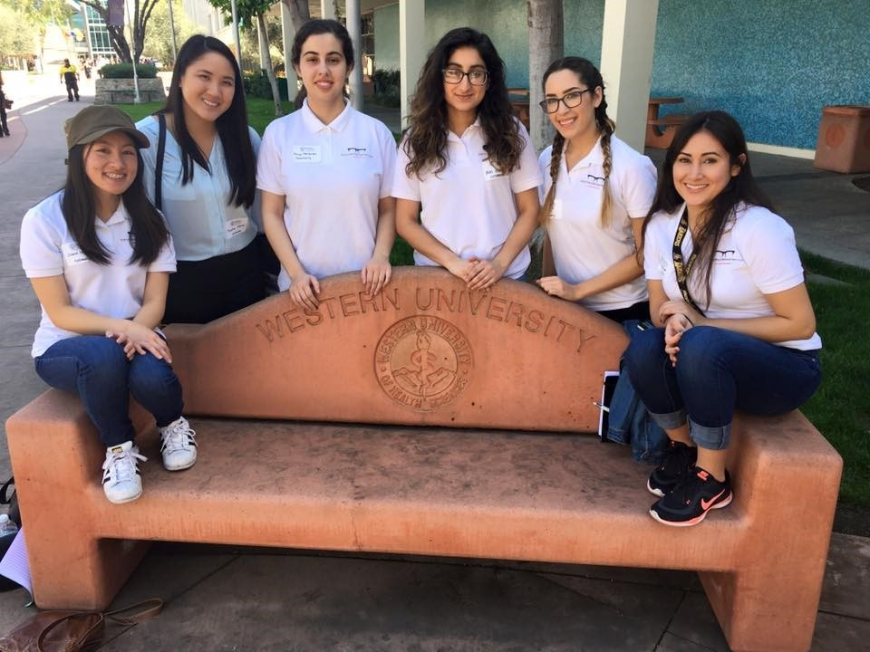 Members of Focus SDSU visited Western University in Pomona, California